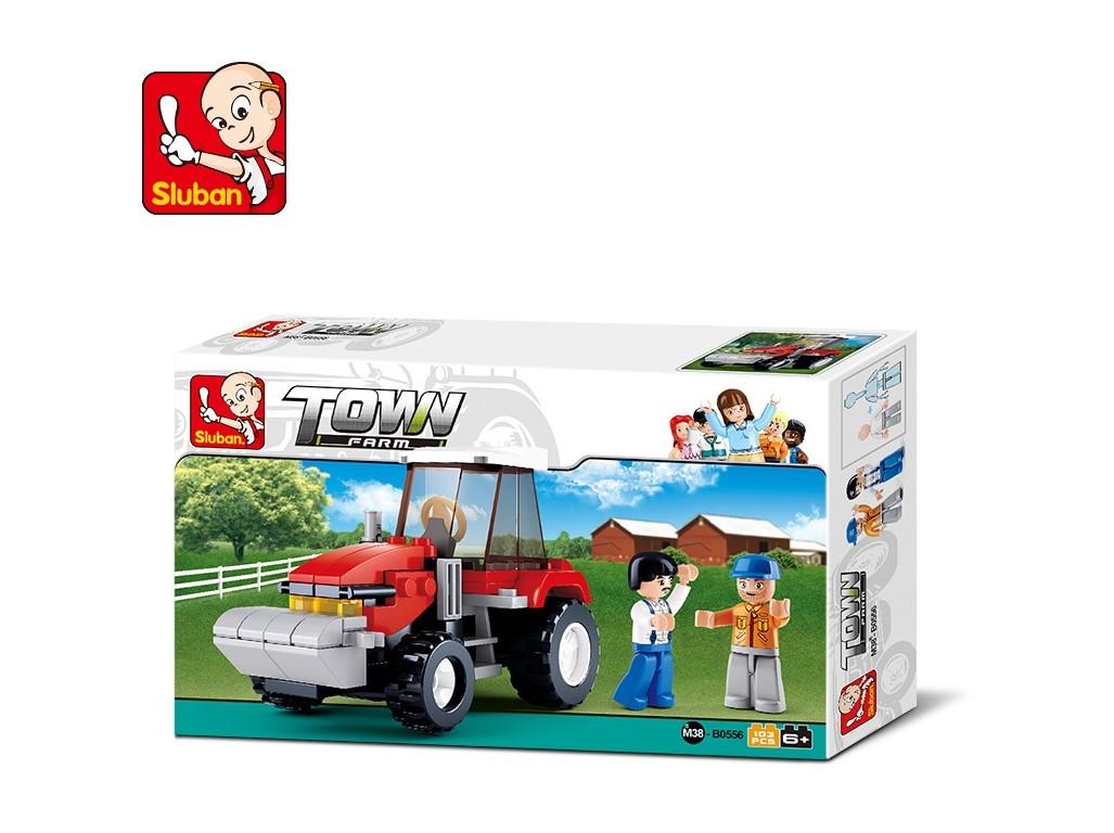Kostky - traktor 103 ks