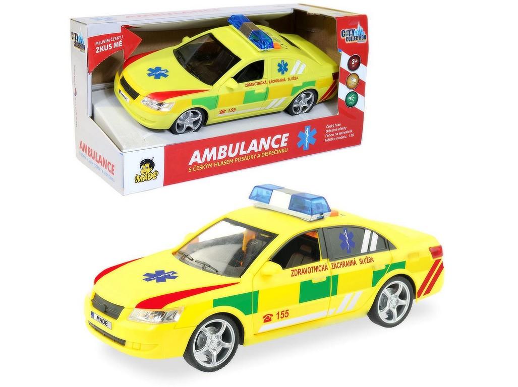 Ambulance - rychlé osobní vozidlo s CZ IC