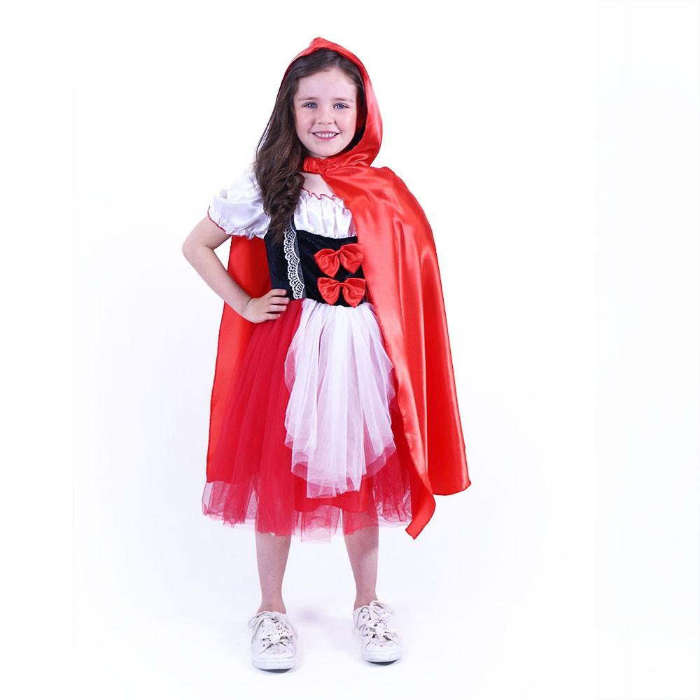 Dětský kostým červená Karkulka (S)
