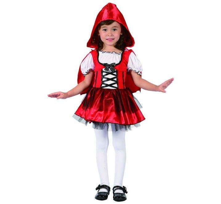 Dětský kostým Červená karkulka - vel. 92-104 cm