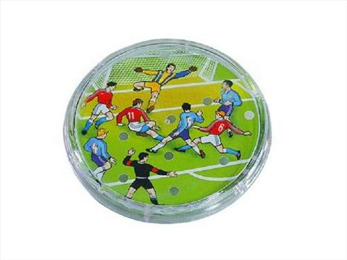 Fotbal kopaná hra hlavolam plast průměr 9cm