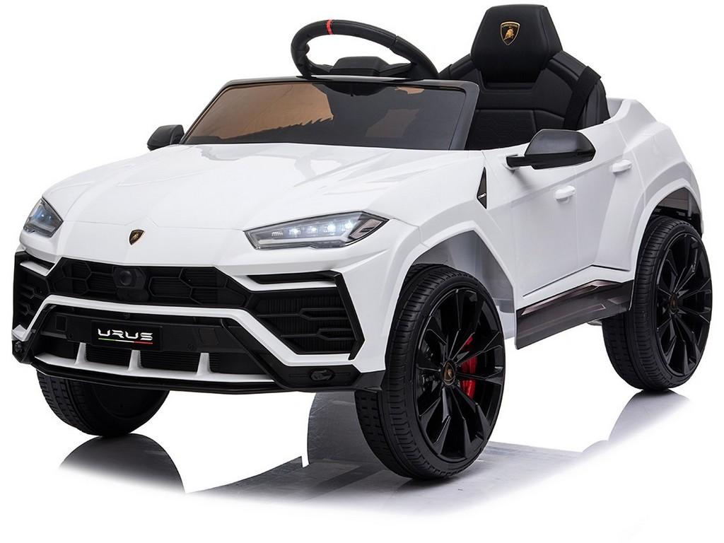 Dětské elektrické auto Lamborghini, 12V, na dálkové ovládání, dva motory, MP3
