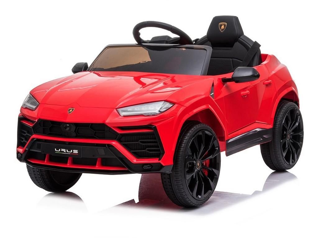 Dětské elektrické auto Lamborghini, 12V, na dálkové ovládání, dva motory, MP3.