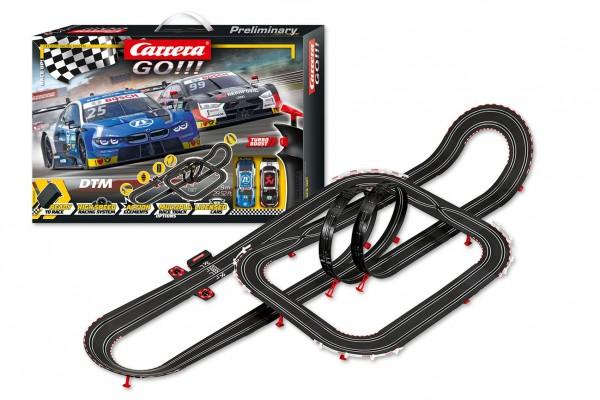 Autodráha Carrera GO!!! 62520 Race Up! 9m + 2 auta v krabici 58x40x12cm