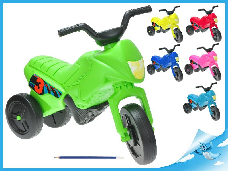 Odrážedlo motorka Enduro malé