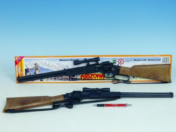 Pistole - Kapslovka puška Arizona 64cm 8 ran na kartě