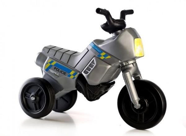 Odrážedlo Enduro Yupee Policie malé plast výška sedadla 26cm od 12 měsíců