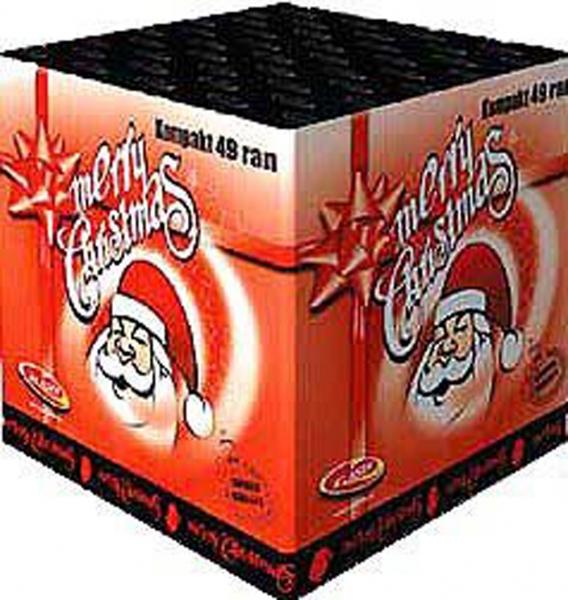 MERRY CHRISTMAS 49 ran kompakt