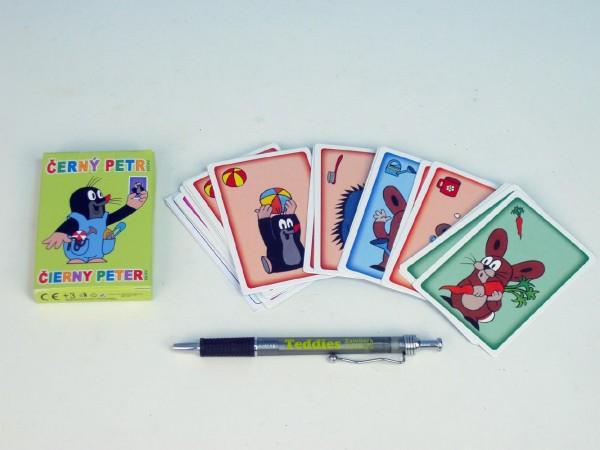 Černý Petr Krtek společenská hra - karty v papírové krabičce