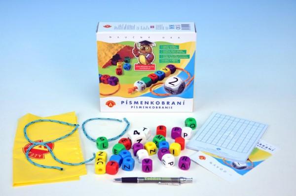 Fotografie Písmenkobraní společenská hra v krabici 20x18,5x5,5cm