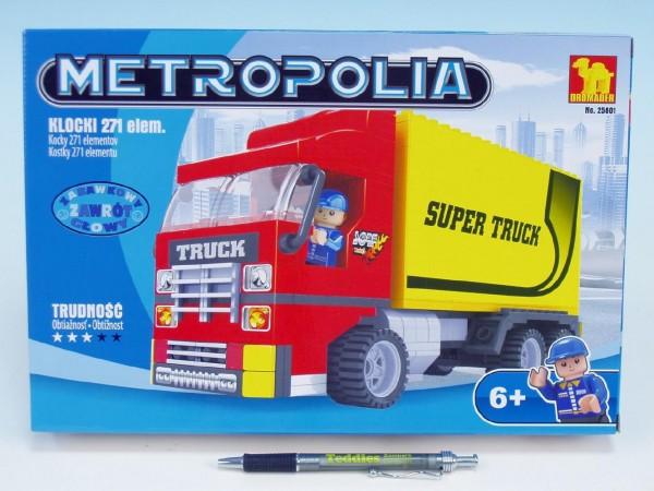 Fotografie Stavebnice Dromader Auto Kamion 25601 271ks v krabici