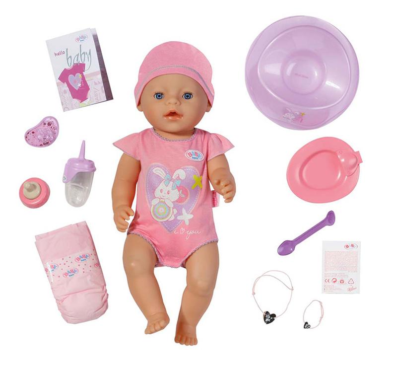 BABY BORN Panenka interaktivní holka
