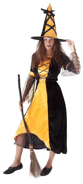 kostým čarodějnice pro dospělé,vel. S