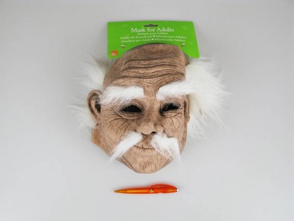 Maska stařec (dědek)