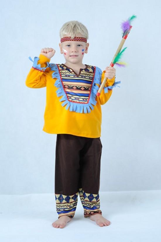 Karnevalový Kostým Indián 3 - 4 roky