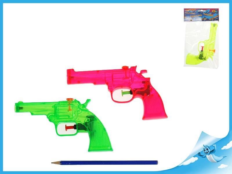 Vodní pistole 16cm 3barvy