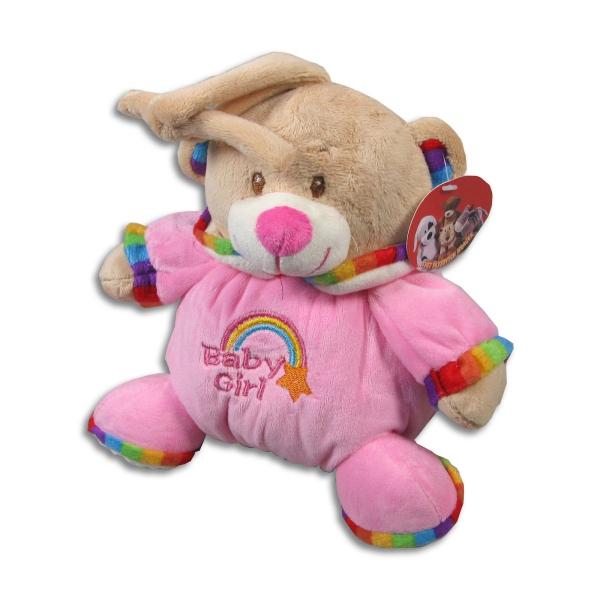 Medvídek s melodií 17 cm 2 barvy