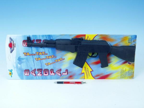 Samopal AK-47 47cm na karte