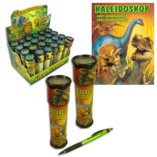 Kaleidoskop, svět dinosaurů