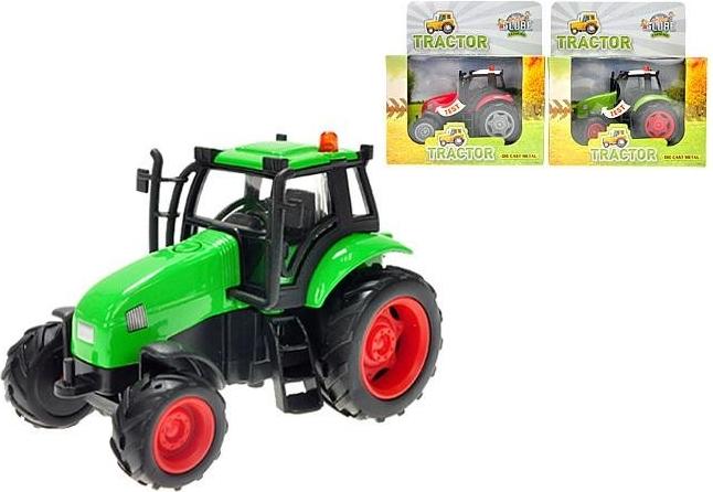 Auto traktor kov 12cm