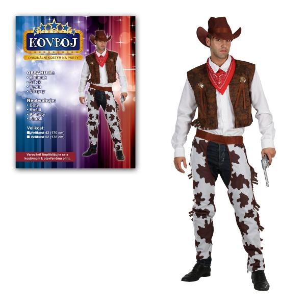 Šaty na karneval - Kovboj