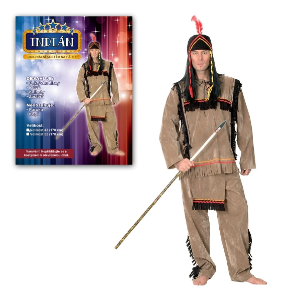 Šaty na karneval - Indián