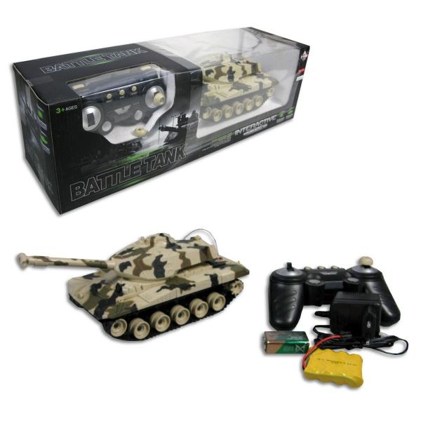 R/C Tank na ovládání s pásy