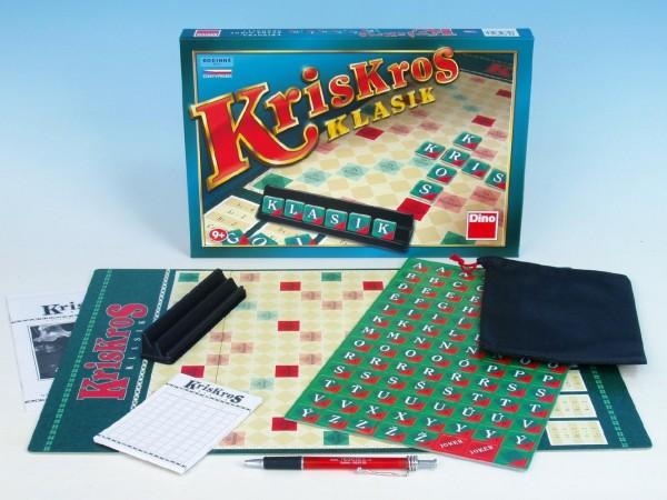 Fotografie Kris Kros klasik společenská hra v krabici 33x23x3,5cm