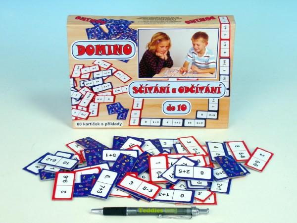 Fotografie Domino sčítání a odčítání do 10