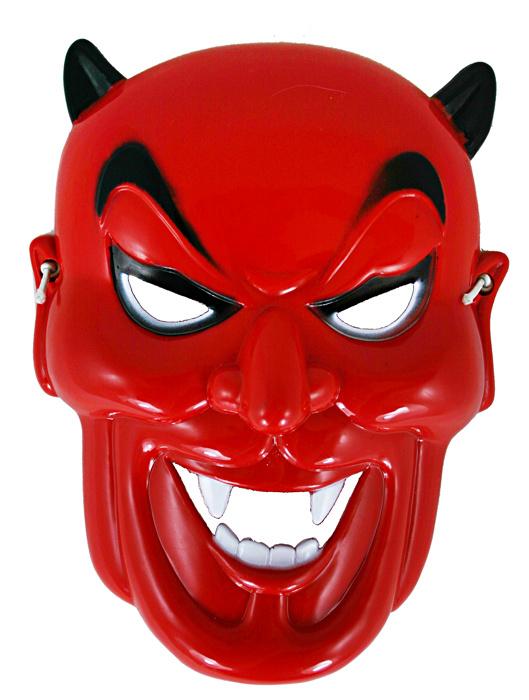 Maska čert plastová