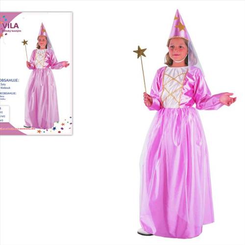 Šaty na karneval - Víla, 120-130 cm