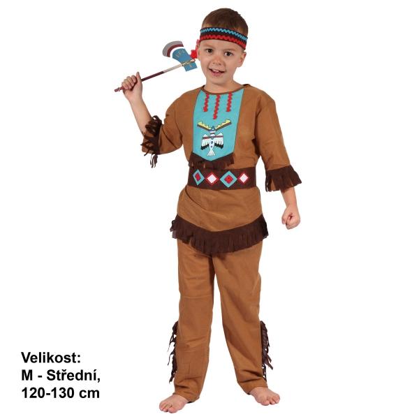 Šaty na karneval - Indián, 120-130 cm