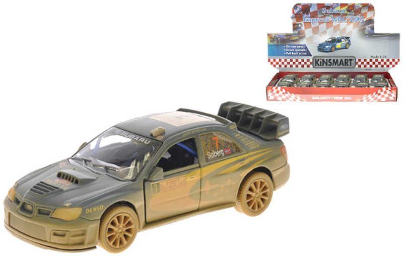 Subaru Impreza WRC 2007 kov zpětný chod