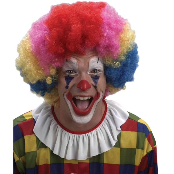 Paruka afro - barevná klaun