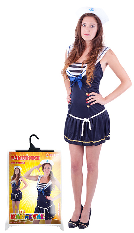 Kostým slečna námořnice, dospělá, vel. M