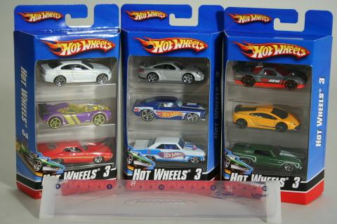 Hot wheels Angličák 3ks