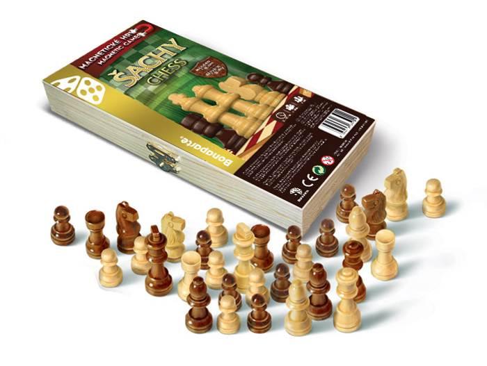 Magnetické Šachy - cestovní hra
