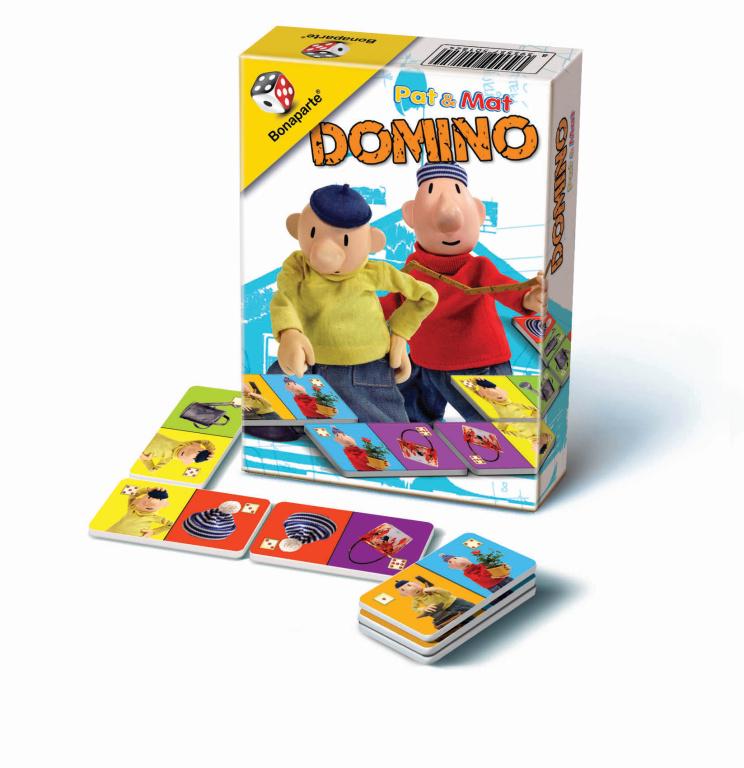Domino PAT a MAT - MINI v kartonové krabičce