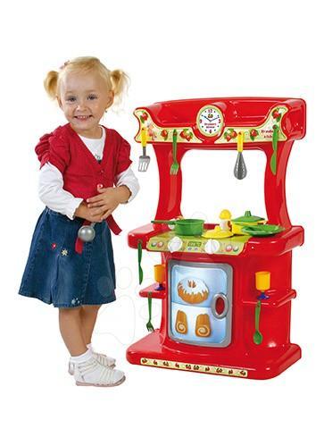 DOHÁNY 721 dětská kuchyňka Strawberry od 18 měsíců +21 doplňků