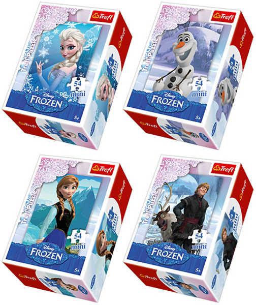 TREFL puzzle 54 MINI Ledové království /Disney