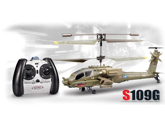 Vrtulník 3-CH s GYRO, na ovládání