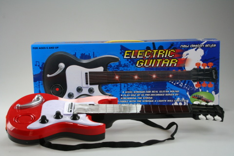 Fotografie Kytara elektrická
