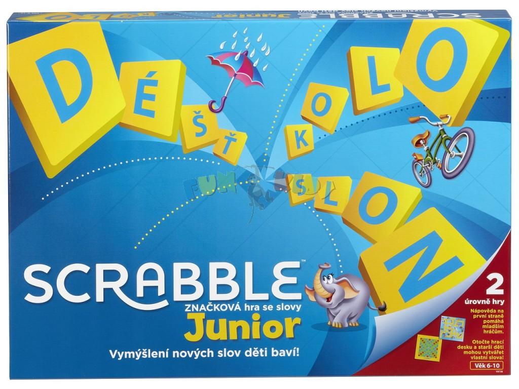 Scrabble Junior česká verze