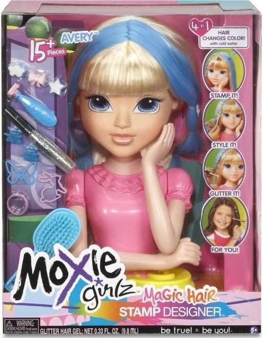 Moxie Girlz Česací hlava Avery