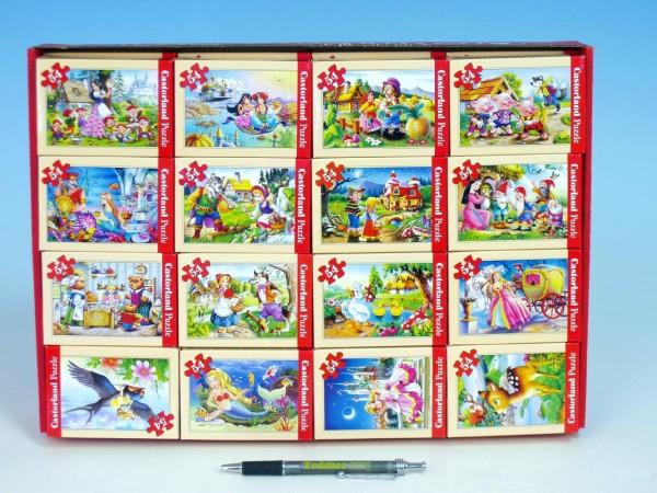 Fotografie Minipuzzle pohádky 54 dílků