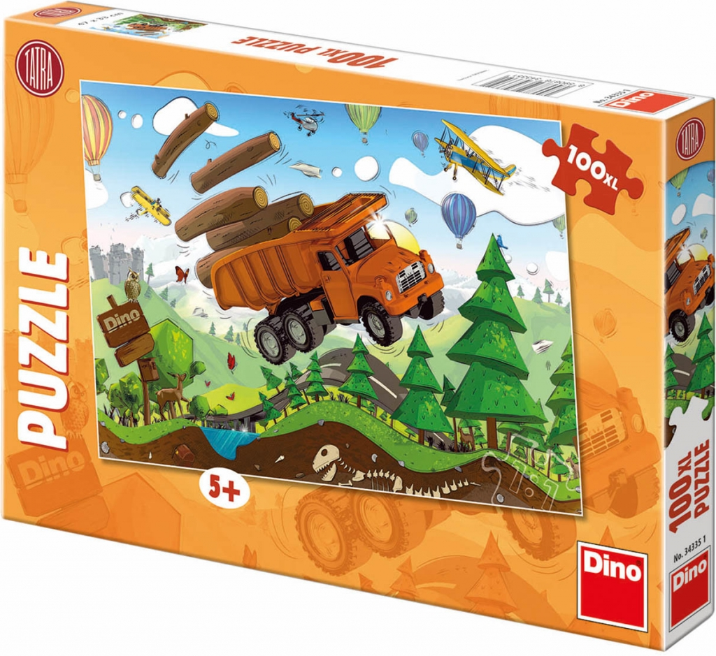 DINO Puzzle Tatra na cestách 100XL