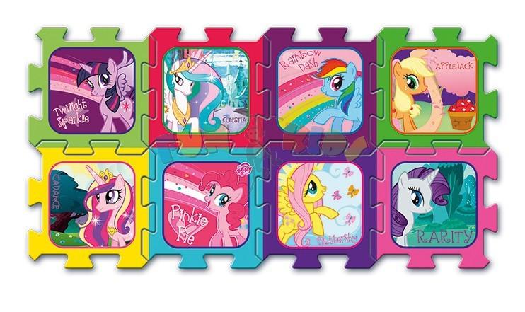 Trefl pěnové soft puzzle koberec My Little Pony 8 dílů