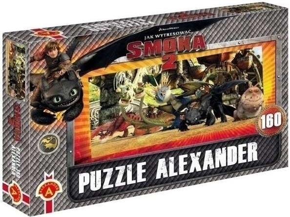 ALEXANDER Puzzle 016 Jak vycvičit draka 2 160 dílků