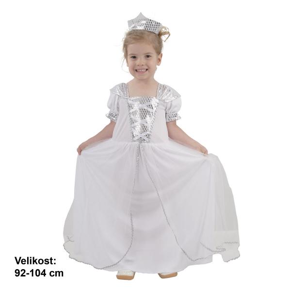 Fotografie Šaty na karneval - Princezna, 92-104 cm