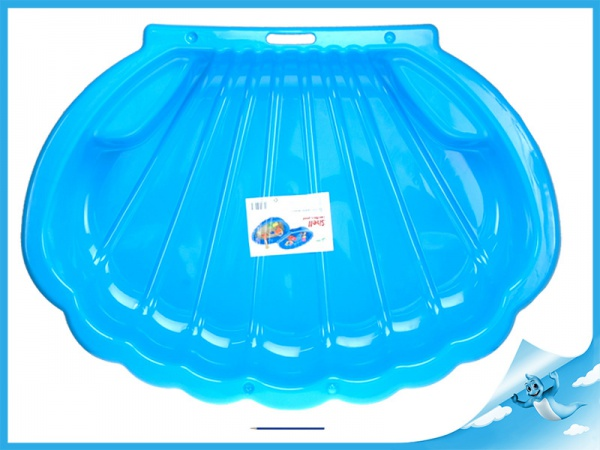 Pískoviště/bazén ve tvaru mušle 108x78x18cm 0m+ 4barvy